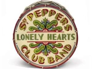 the beatles sgt peppers drum skin