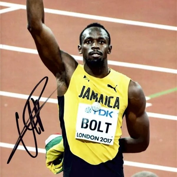 Usain Bolt Autograph 8×10″ signed photo
