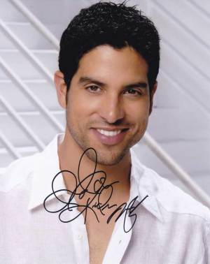 Adam Rodriguez in-person autographed photo