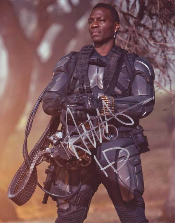 Adewale Akinnuoye-Agbaje in-person autographed photo