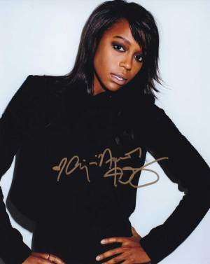 Aja Naomi King In-person Autographed Photo