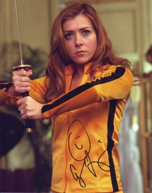 Alyson Hannigan in-person autographed photo
