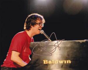 Ben Folds in-person autographed photo