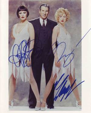 Chicago in-person autographed cast photo