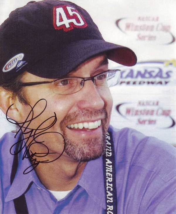 Kyle Petty In-person autographed photo