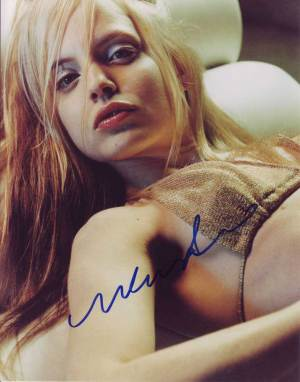 Mena Suvari in-person autographed photo