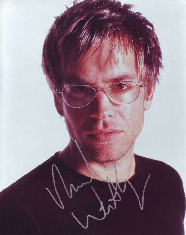 Michael Weatherly in-person autographed photo