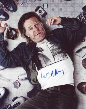 William H. Macy in-person autographed photo