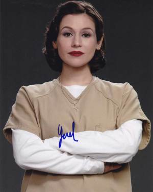 Yael Stone in-person autographed photo