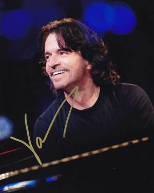 Yanni in-person autographed photo