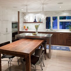Metal Kitchen Island Replacement Doors Islands For Modern And Not Very Places 20 Photos Of The