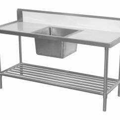 Metal Kitchen Tables Painting Cupboards Stainless Steel Table With Drawers Modern Furniture Photos Ideas Reviews
