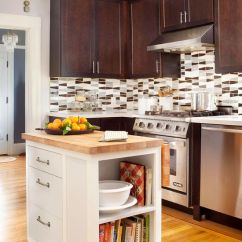 Islands For Kitchens Damascus Kitchen Knives Perfect Island Small Spaces Modern Furniture