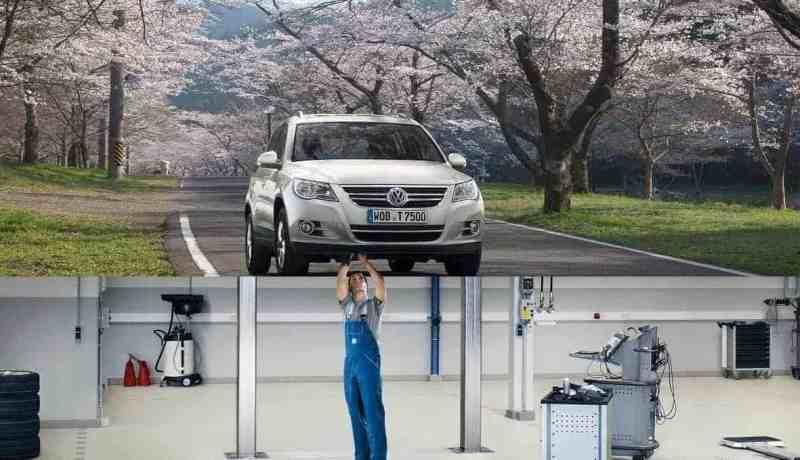 Inspektion & Wartung Autohaus Halstenberg für VW und Audi