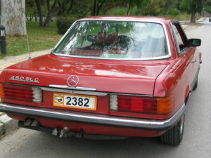 Mercedes Benz SLC 450 (W107) autoholix pic1