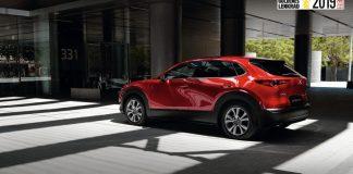 Mazda CX-30 Golden Steering Wheel