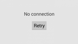 No-Connection-Retry
