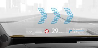 Volkswagen head-up display 01