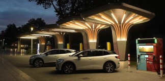 E.ON and Volkswagen launch fast charger with storage battery