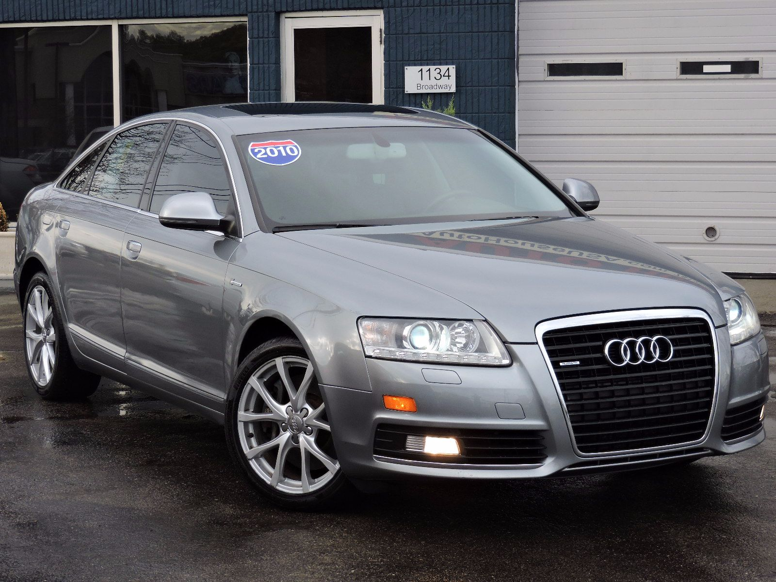 hight resolution of 2010 audi a6 quattro all wheel drive navigation