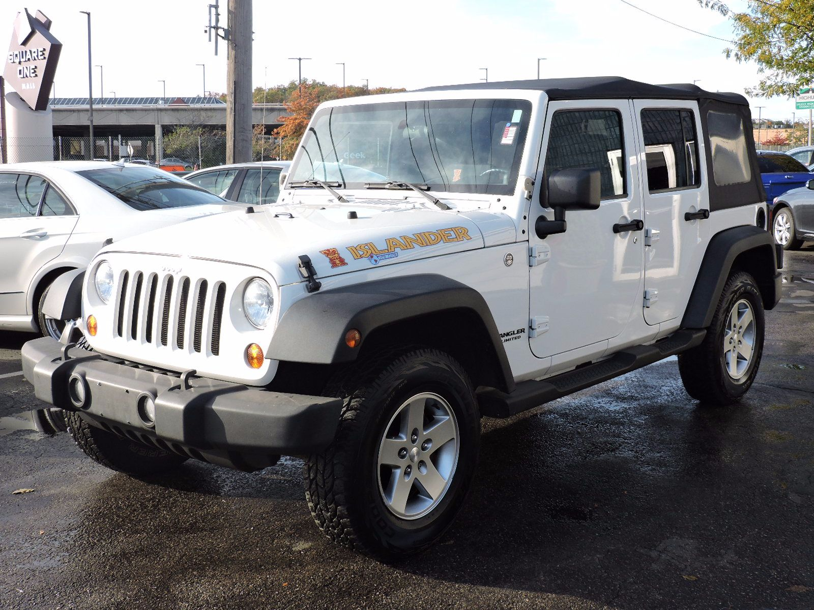 Used Jeep Wrangler Unlimited Islander At Auto House