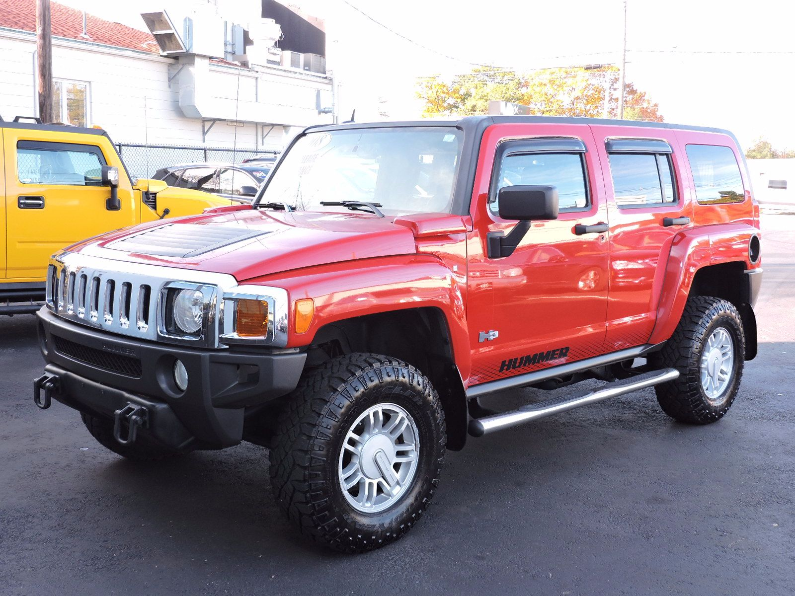s of a Used 2008 HUMMER H3 SUV at Auto House USA Saugus