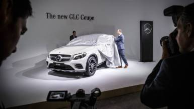 "Weltpremiere in New York: Mercedes GLC ""Coupé"""