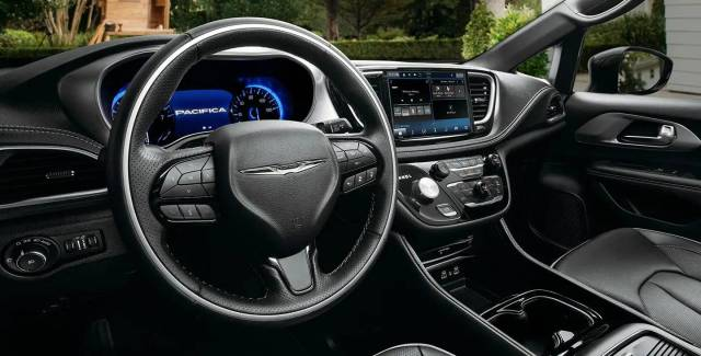 all new 2021 chrysler pacifica  configurations interior