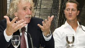 Dr. Johannes Peil und Michael Schumacher