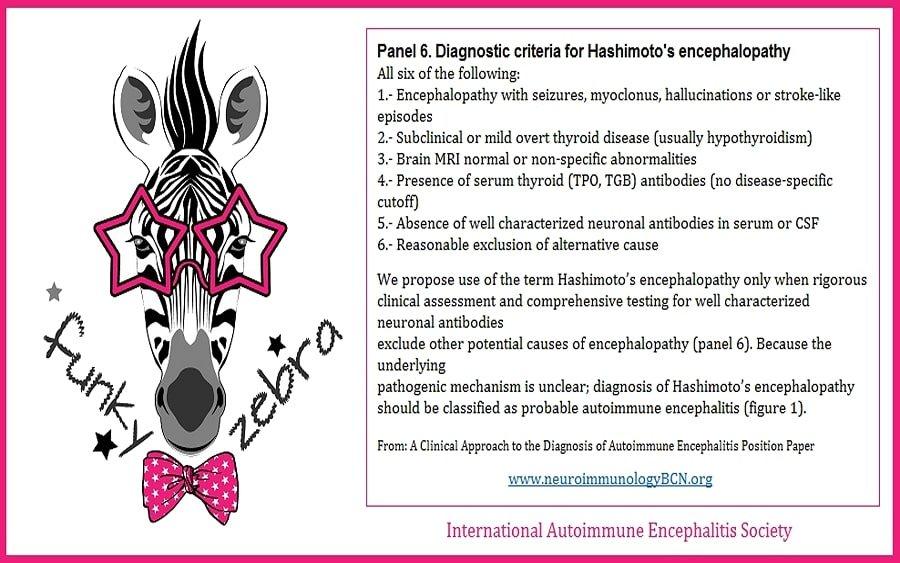 Diagnosis International Autoimmune Encephalitis Society