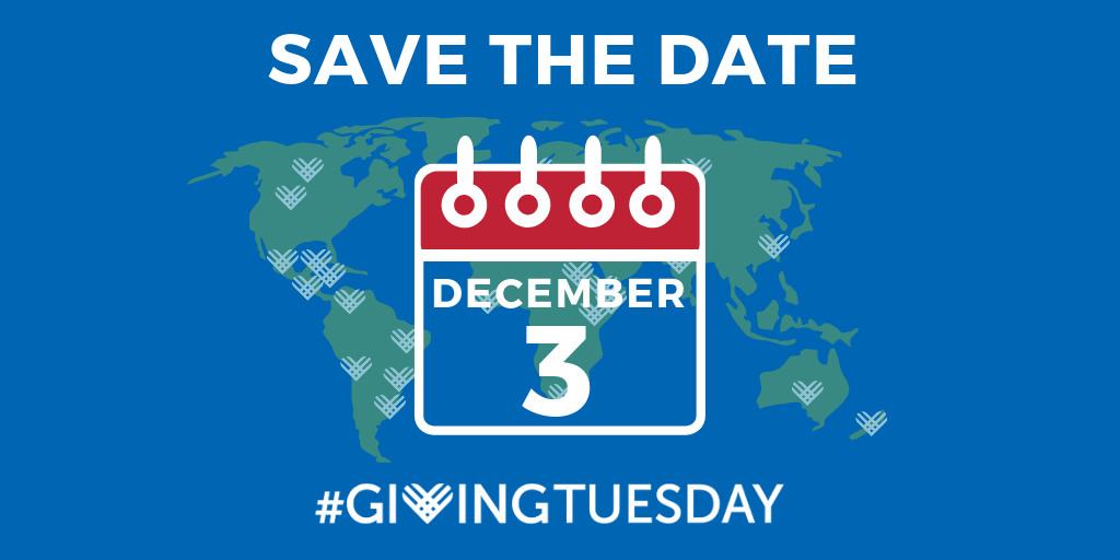 Save the Date Twitter 2019 giving tuesday - THE HERD November 2019~ 1st edition