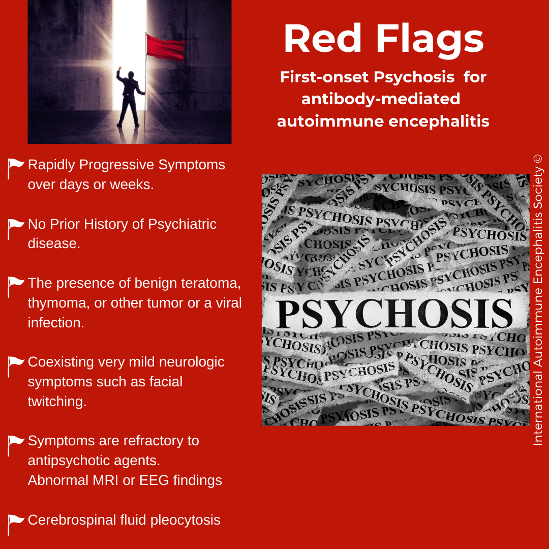 Red Flags AE Psychosis - THE HERD December 2019~ 1st edition