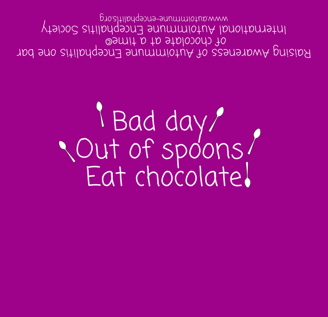 Bad day Out of spoons Eat Chocolate  Candy Wrapper 5 9 16  x 5 3 8  1 - Downloads
