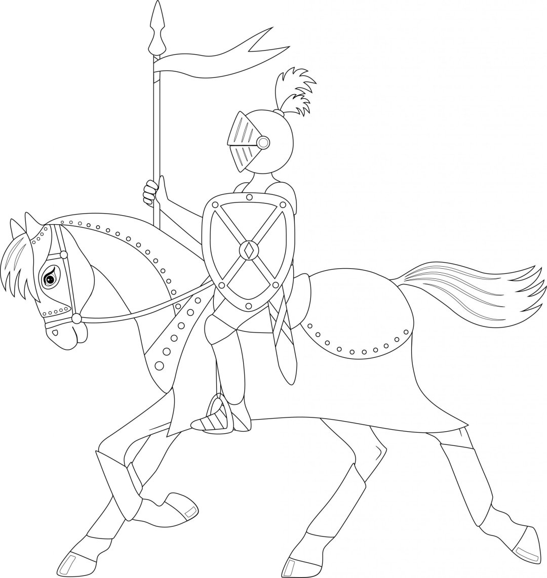 Knight on horse scaled - Cognitive Exercises for AE Patients