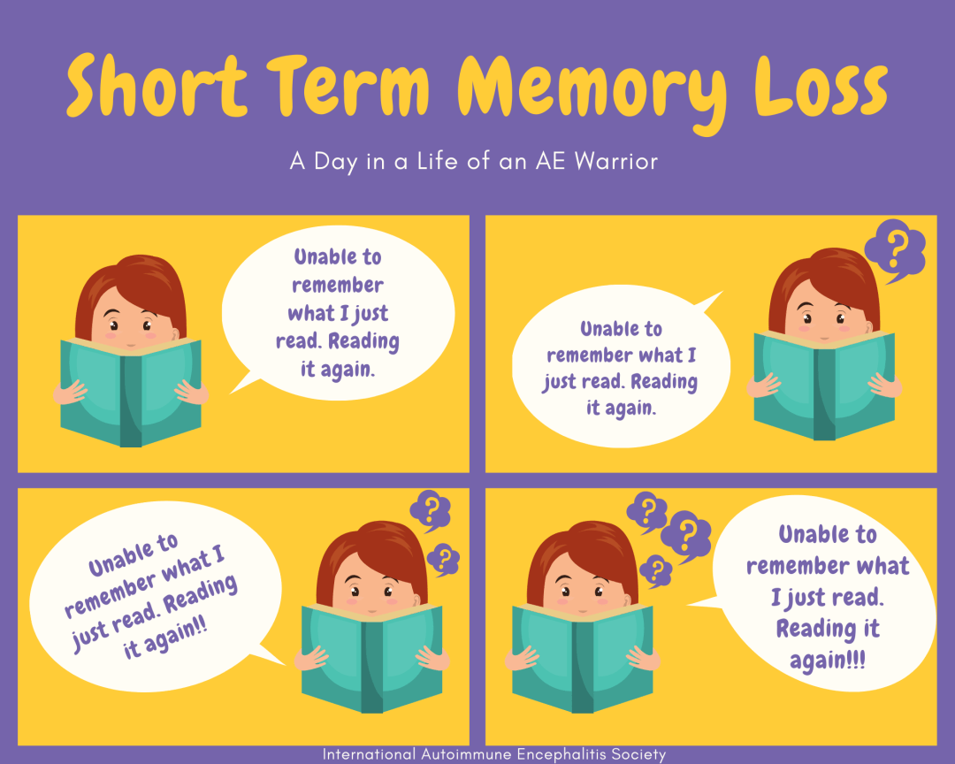 Short term memory loss FB Comic Strip 5 10 FB - Memes About Autoimmune-Encephalitis