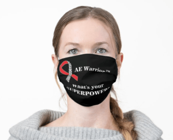 AE Warrior whats your superpower mask - THE HERD December 2020~ 1st edition