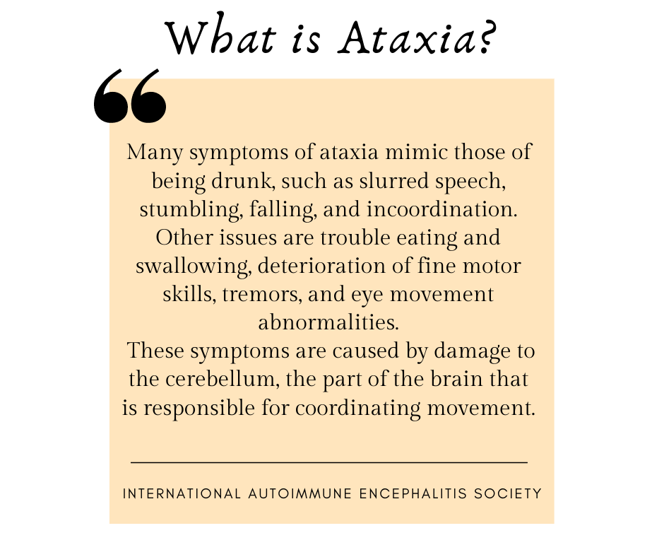 What is Ataxia- FB Post