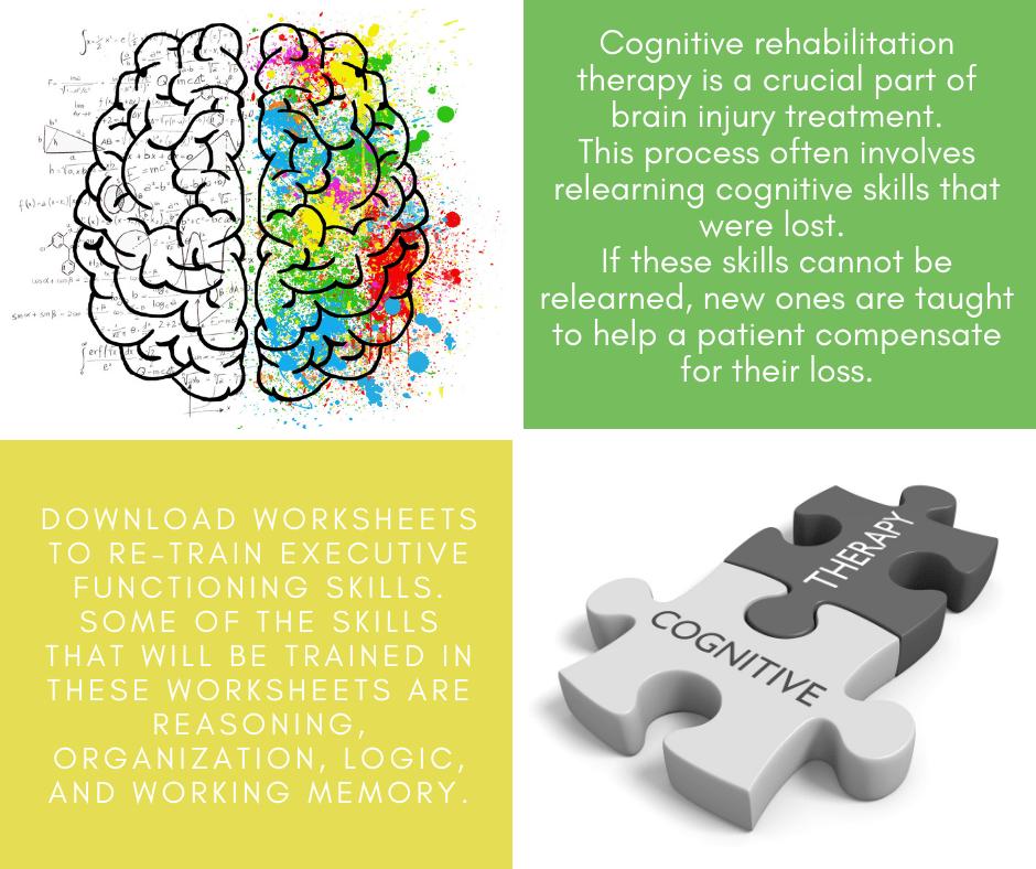 Cognitive rehabilitation- FB-links to cognitive exercise worksheets on website