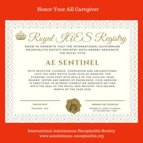 AE Caregiver Registry certificate instagram - THE HERD November 2020~ 2nd edition