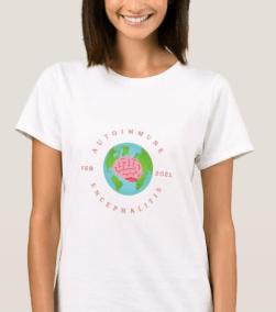 AE awareness t shirt design 2 - THE HERD December 2020~ 2nd edition