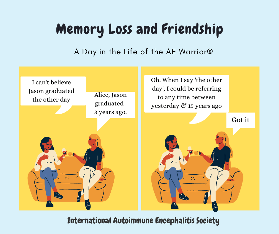 memory loss and friendship 12 13 2020 FB - Memes About Autoimmune-Encephalitis