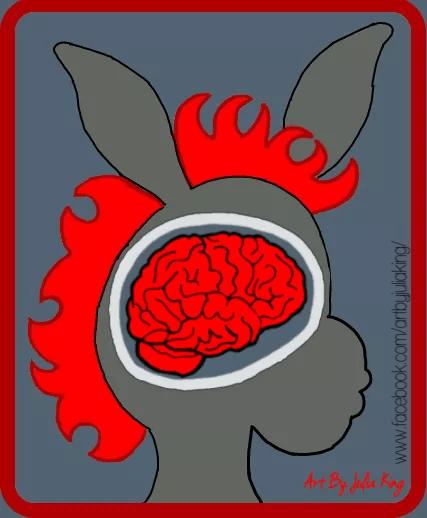 MRI of a young AE Warrior JK - 2021 IAES Virtual Art Show