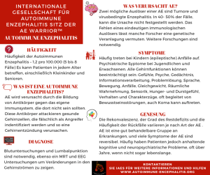 German FB  AE Infographic - Autoimmune Encephalitis Handouts and Fact Sheets