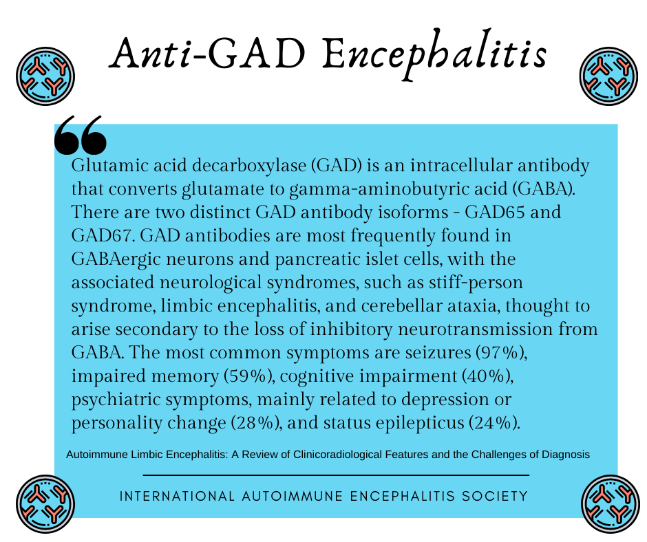 Anti GAD Encephalitis AE FB - Memes About Autoimmune-Encephalitis