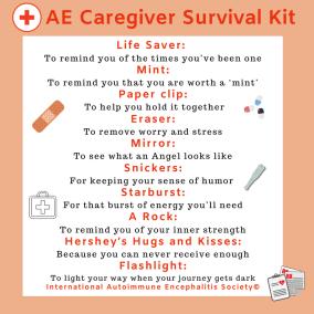 AE Caregivers survival Kit 2  4 x 4  Social Media Post - Downloads