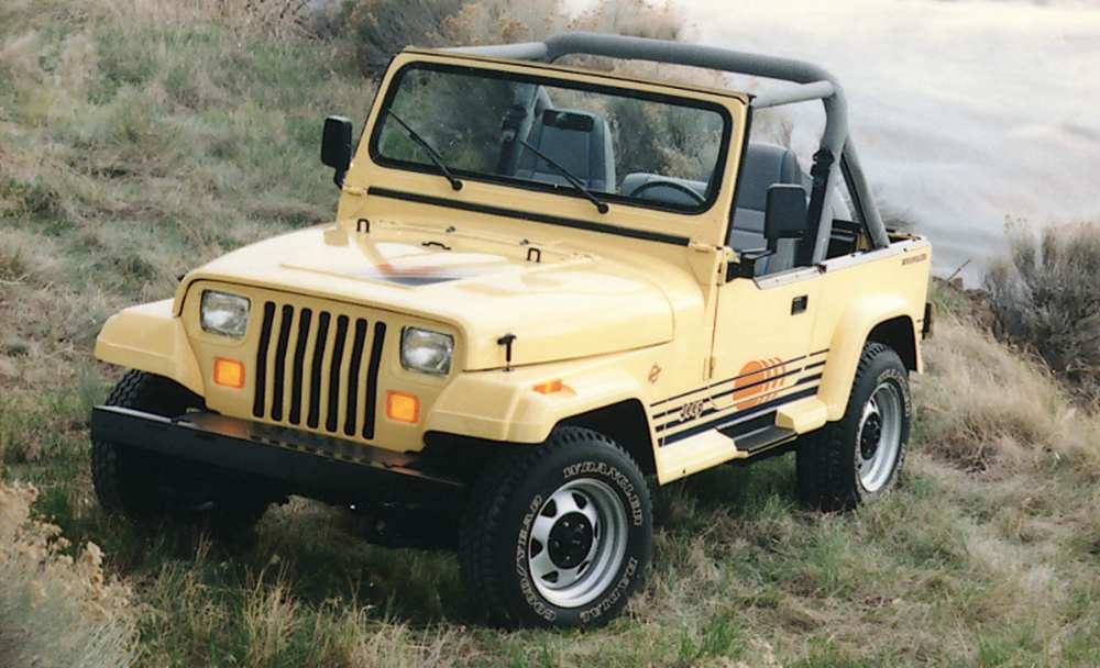 medium resolution of this exclusive options package was available for a brief window between 1988 and 1993 the additions presumably helped give the wrangler as island feel