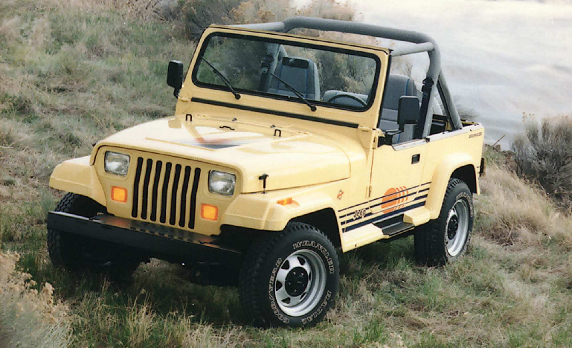 hight resolution of this exclusive options package was available for a brief window between 1988 and 1993 the additions presumably helped give the wrangler as island feel
