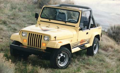 small resolution of this exclusive options package was available for a brief window between 1988 and 1993 the additions presumably helped give the wrangler as island feel