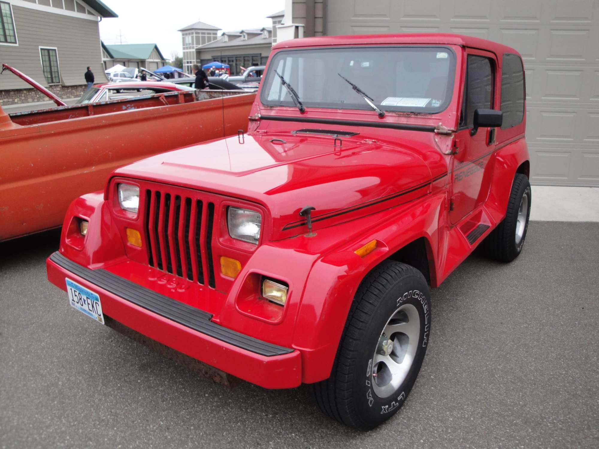 hight resolution of jeep offered a renegade decor group options package from 1990 until 1994 and the vehicle certainly had to go through quite the journey to be equipped