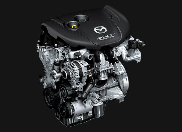 デミオのディーゼルエンジン